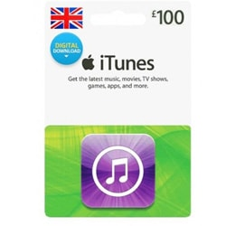 Apple iTunes £100 Gift Card - UK (iTunes UK Gift Cards)