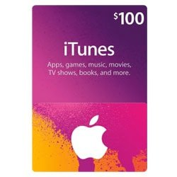 Apple iTunes $100 Gift Card - USA (iTunes Gift Cards)
