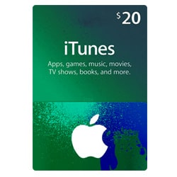 Apple iTunes $20 Gift Card - USA (iTunes Gift Cards)