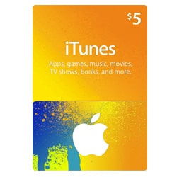 Apple iTunes $5 Gift Card - USA (iTunes Gift Cards)