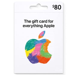 Apple iTunes $80 Gift Card - USA (iTunes Gift Cards)
