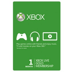 Xbox Live Card 1 Month - USA (Xbox Cards)