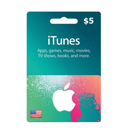 itunes gift cards 5 dollars lamoureph blog. Black Bedroom Furniture Sets. Home Design Ideas