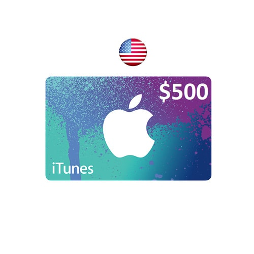 apple itunes  500 gift card - usa  email delivery